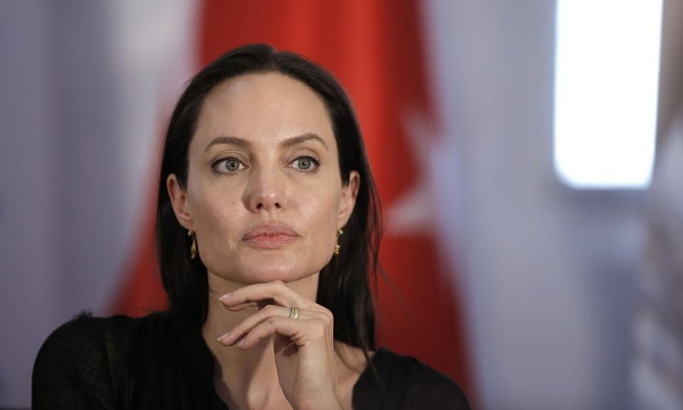 Джоли анджелина ужас весьма