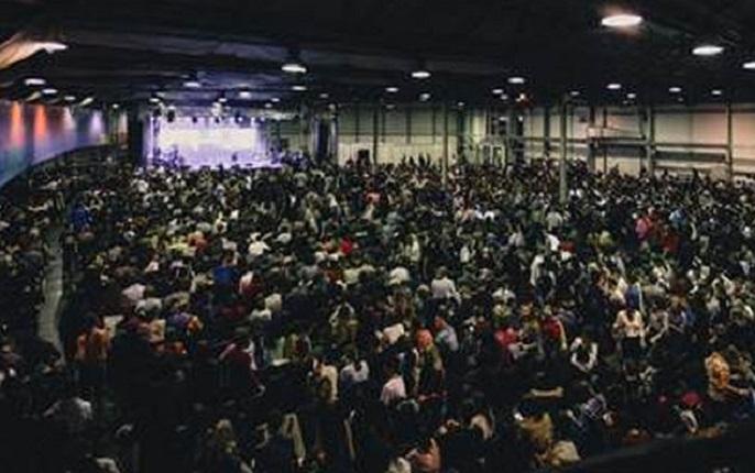 Самое большое воскресное собрание